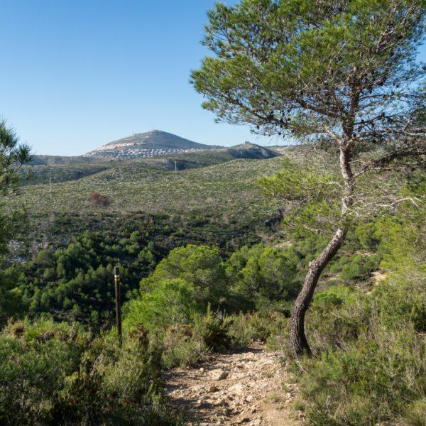 Mirador de la Granadella und Cumbre del Sol