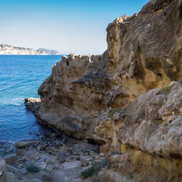 rocas en el Paseo Ecologico de Benissa