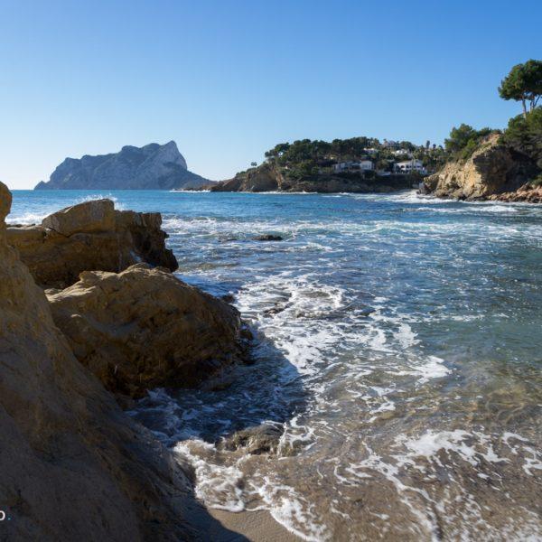 Küstenwanderung Paseo Ecologico, Cala Pinets