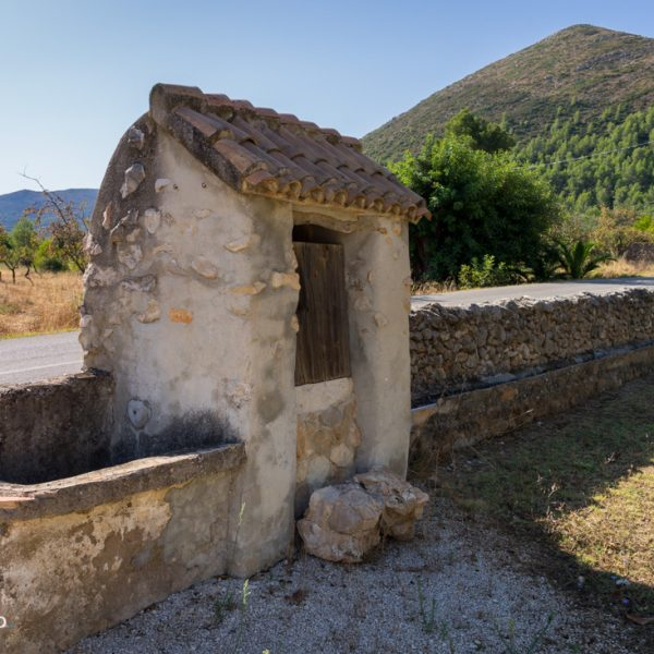 Ausgangspunkt in Xaló Benibraim, Blick auf den Alt de l´Ample