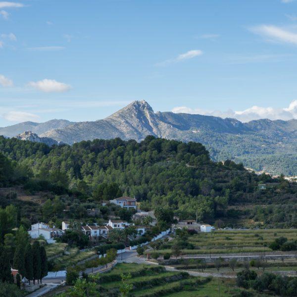 Sierra de Seguili, vista a Cavall Verd