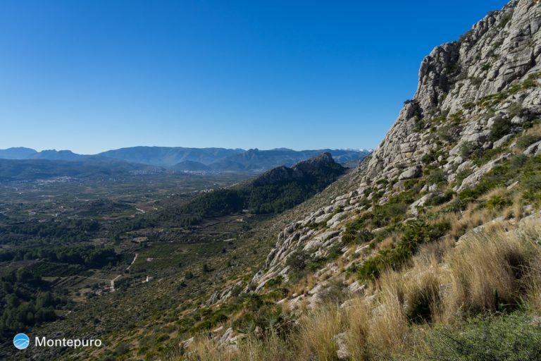 Sierra de Segària, vistas del Cavall Verd