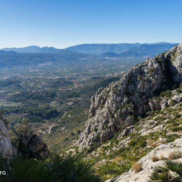 Sierra de Segària, vistas de las montañas