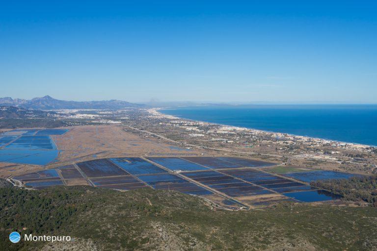 Sierra de Segària, vistas del Marjal de Pego-Oliva