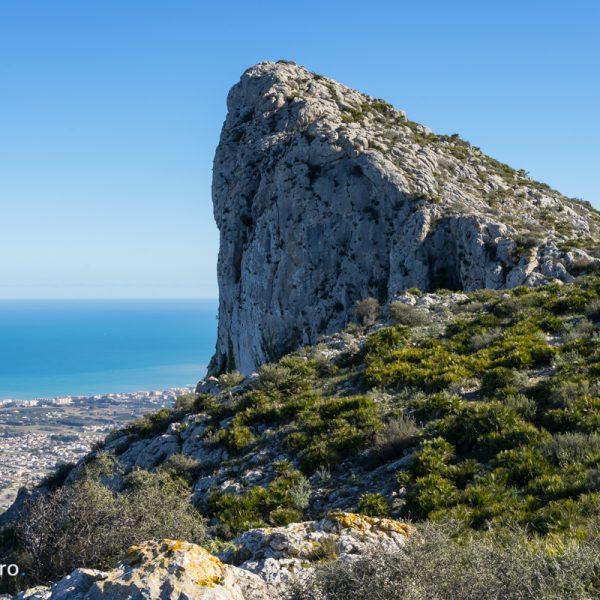 Sierra de Segària, vistas del Morro de Segària