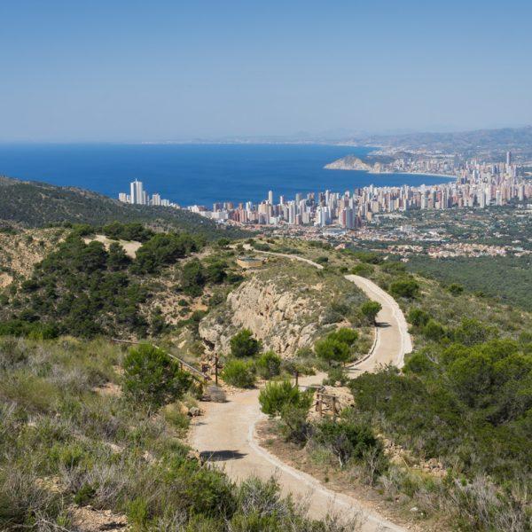 Sierra Helada, panorama de Benidorm