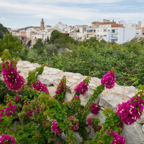 am Paseo de les Coves Roges mit Blick auf Gata de Gorgos