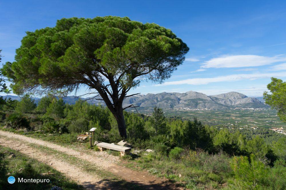 Sierra de Seguili, vista a Sierra de Migdia