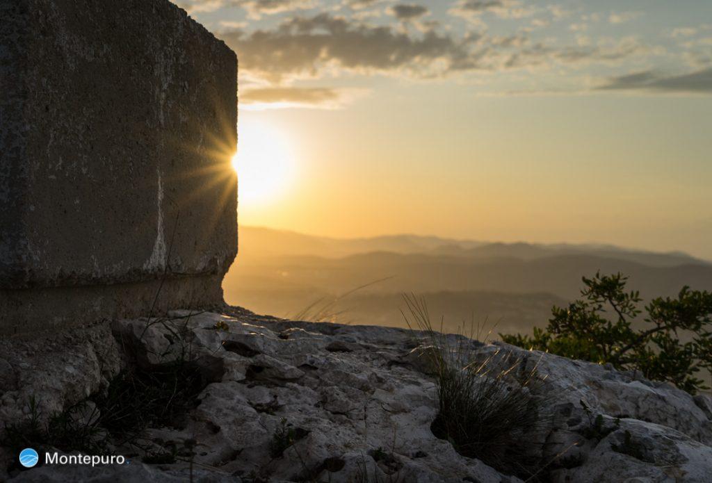 atardecer Puig de la Llorença, Cumbre del Sol