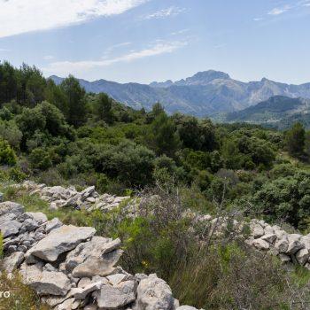Panorama Sierra de Bèrnia