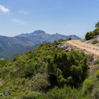 PR-CV 145 Tarbena, Sierra de Bernia