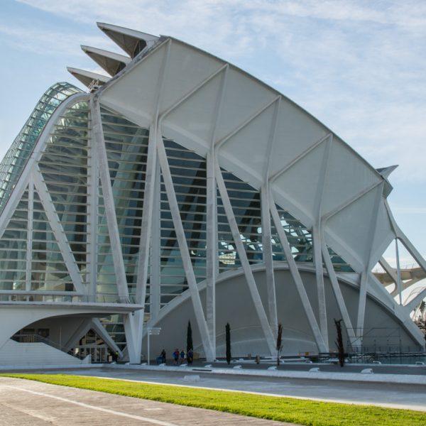 Museu de les Ciències zeigt interaktive Ausstellungen über Naturwissenschaft und Technik, Valencia