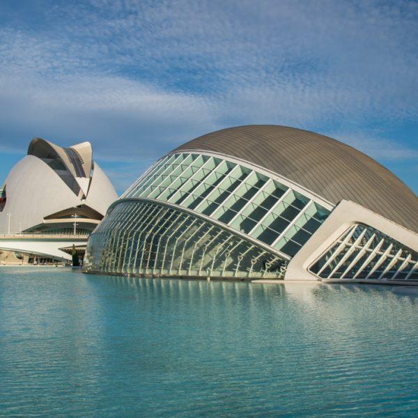 Hemisfèric und Palau de les Arts, Valencia