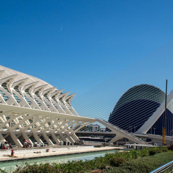Àgora und Museu de les Ciències, Stadt der Künste und der Wissenschaften in Valencia